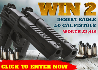 Twin Desert Eagle .50 Cal Pistol Giveaway!